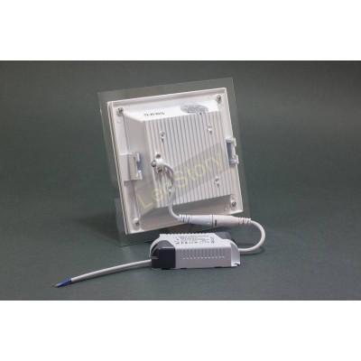 Светодиодный светильник Glass Rim 12W квадрат 4000К