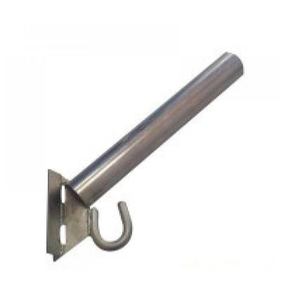 Кронштейн для светильников уличного освещения d=40 мм с крюком