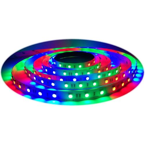 Светодиодная лента RGB 5050 60 д.м. (IP20)  улучшенного качества (цена за 1 м)