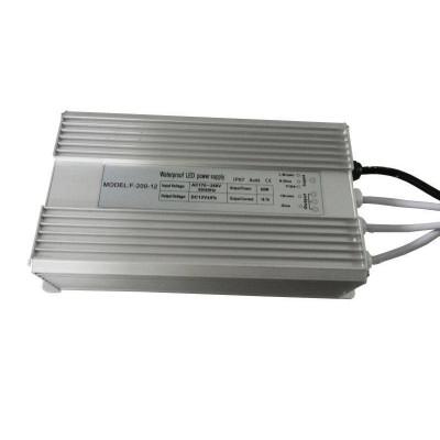 Блоки питания 12В-200Вт 16.6А Герметичный IP 67