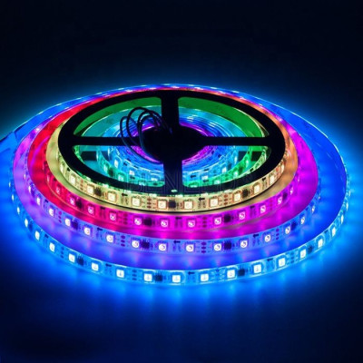 Светодиодная лента RGB SMD 5050 12V 60 д.м.IP20 WS2811 PIXEL (цена за 1м)