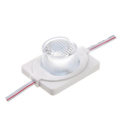 Cветодиодный модуль SMD3030, 1,5W 1LED IP67 (loose lens)