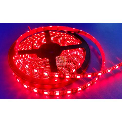 Светодиодные ленты smd 5050 12V 60 д.м. (IP65). Красная (цена за 1 м)