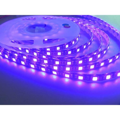 Светодиодные ленты UV SMD 5050 60LED/m, IP20, ультрафиолетовая (цена за 1 м)