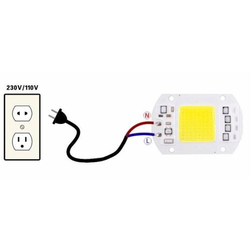 Светодиодная матрица AC 15W SMART CHIP 220V (встроенный драйвер)