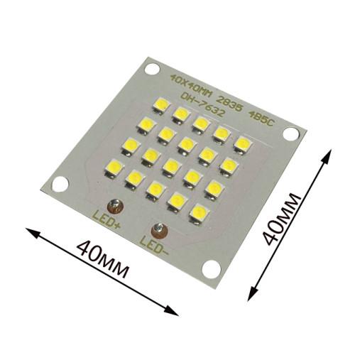 Светодиодная матрица 10W 27-36V 1400Lm 5500К яркий,чип BRIDGELUX ,ПРЕМИУМ