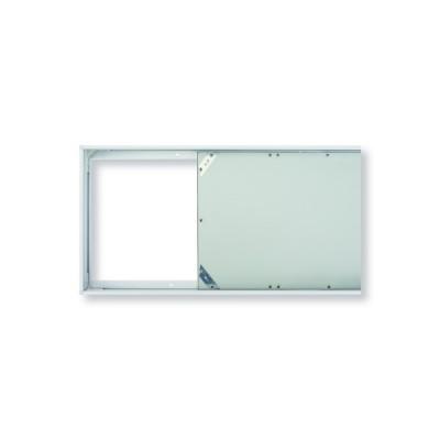 Рамка для накладного монтажа лед панели 60х30 см металл