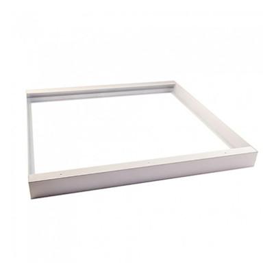 Рамка для накладного монтажа лед панели 60х60 см алюминий
