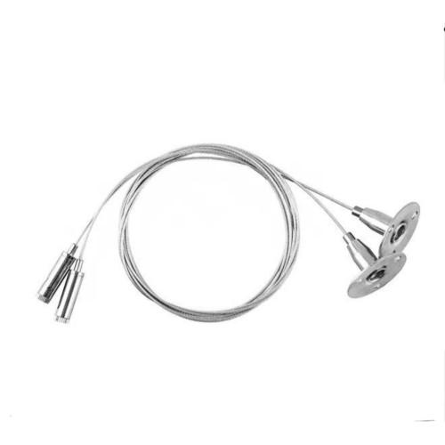 Тросики для подвесного монтажа освещения LD1002 Feron 1,5м ( 2шт)