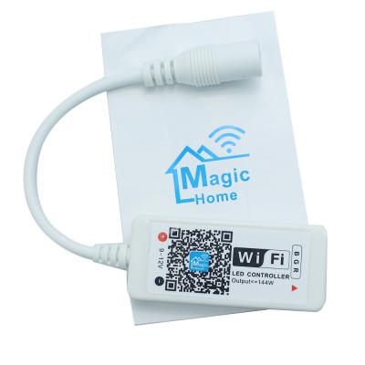 Контролеры мини WiFi RGB 5-28V 3A/c 100W с таймером и цветомузыкальным режимом