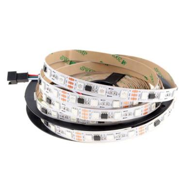 Светодиодная лента RGB SMD 5050 12V 60 д.м.IP20 WS2811 PIXEL (цена1м)