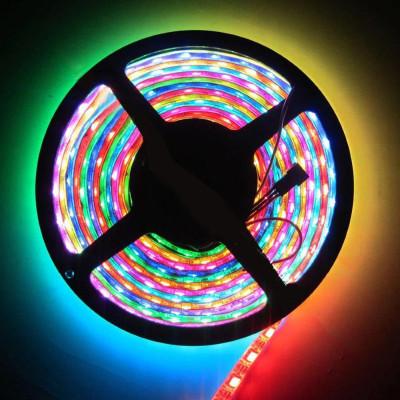 Лед лента WS2812b SMD 5050 60 LED/m, RGB RW 1LED IP65 PIXEL STRIP 5v (цена 1 м)
