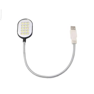 Светодиодные фонарики подсветка usb на гнущейся ноге