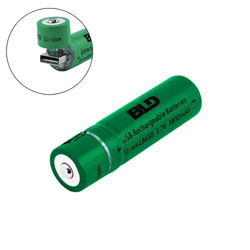 Аккумуляторы 18650 BLD 3800mAh USB