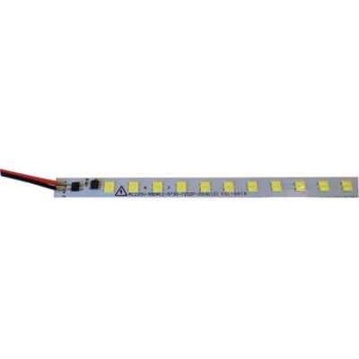 Светодиодная линейка 220В 5730 IP20 144д.м холодный белый