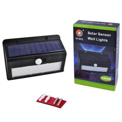 Настенный уличный светильник на солнечной батарее с датчиком движения 6012 30 SMD