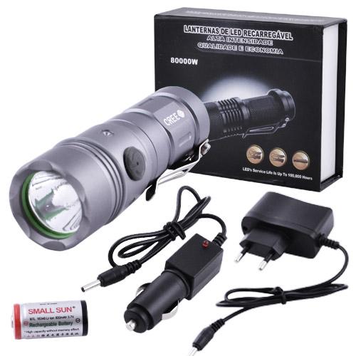 Светодиодные фонарики аккумуляторные 828 XPE