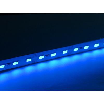Светодиодная линейка SMD 5630 72LED/m, 12v, негерметичная IP20 синяя