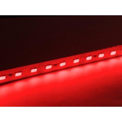 Светодиодная линейка SMD 5630 72LED/m, 12v, негерметичная IP20 красная