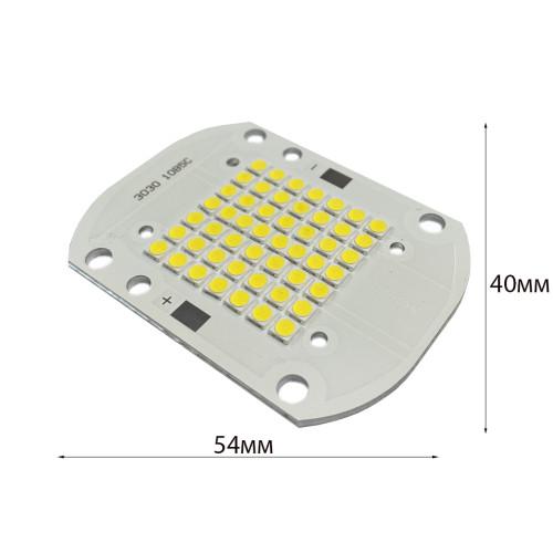 Светодиодная матрица 50W BRIDGELUX 5000К 6500Лм для уличного светильника ,прожектора