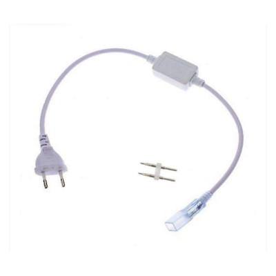 Адаптер питания для LED ленты 6 mm 220V 48-2835, IP65 +коннектор 2 pin
