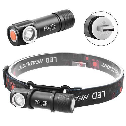 Фонарик налобный LED с акумулятором на лоб+в руку 2155 XPE с магнитом