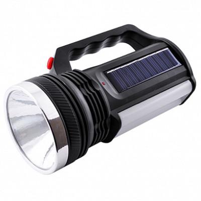 Светодиодные фонарики с аккумулятором черный переносной 2836
