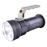 Светодиодные фонарики с аккумулятором черный переносной T801 XPE