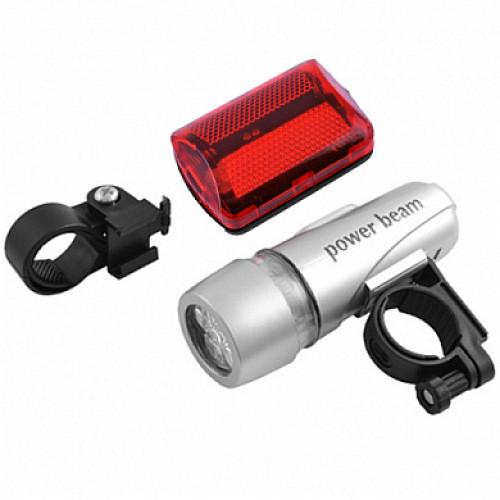 Велосипедный фонарь LED 101 под батарейку или аккумулятор