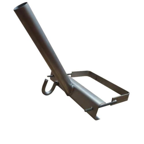 Кронштейн КС-5 для светильника уличного освещения с хомутом (Ø 50 мм)