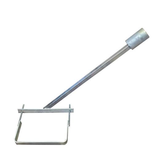 Кронштейн для уличных светильников d=50 мм, длина 60 см однорожковый (комплект)