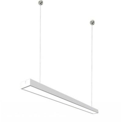 Подвесной светильник 24W 5000К 120см белый (металл)