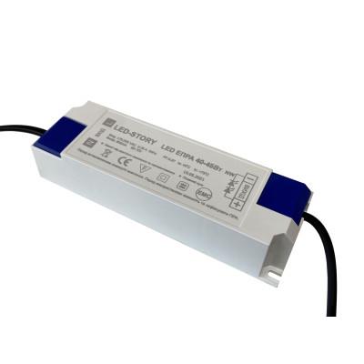 Лед драйвер для матовой led панели 40Вт 0,25А IP20 175-265V PF-0,97 EMS фильтр EXTRA PREMIUM