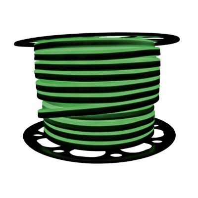Неоновая лента AVT 2835 120 д.м. (IP65) 220В 8x16мм зеленый (цена за 1 м) (53)