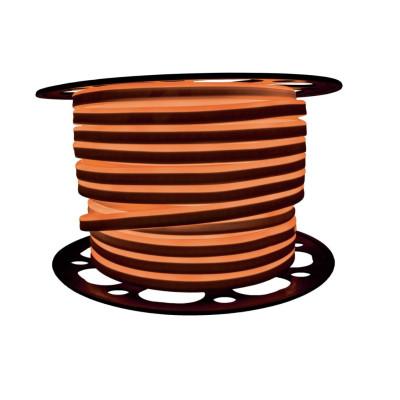 Неоновая лента AVT 2835 7W,120 д.м. (IP65) 220В 8x16мм оранжевый (цена 1 м) (53)