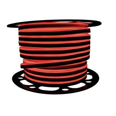 Неоновая лента AVT 2835 120 д.м. (IP65) 220В 8x16мм красный (цена за 1 м) (53)