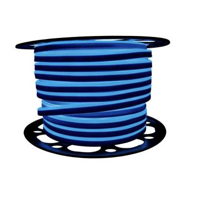 Неоновая лента AVT 2835 120 д.м. (IP65) 220В 8x16мм синий (цена за 1 м) (53)