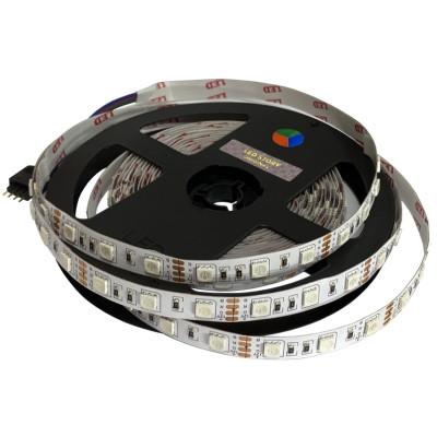 RGB лента SMD 5050 12V, 14.4W, 60 д/м IP20 Led-Story PROFI (цена 1м)
