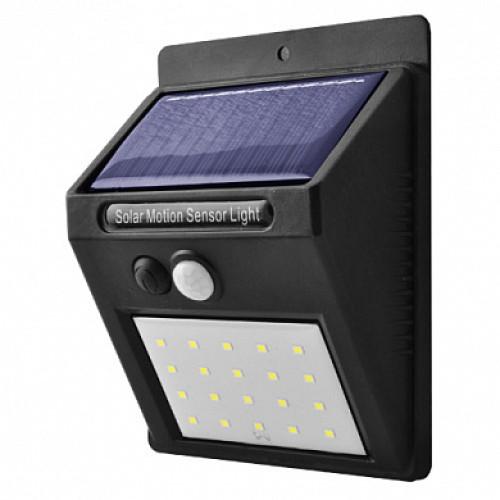 Настенный уличный светильник на солнечной батарее с датчиком движения 6009 20 SMD