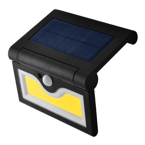 Настенный уличный светильник на солнечной батарее с датчиком движения 090 COB