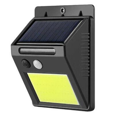 Настенный уличный светильник на солнечной батарее с датчиком движения 1605 COB