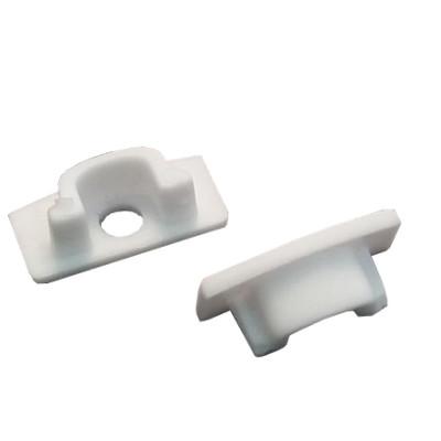Заглушка для накладного профиля ПФ 15 пластиковая