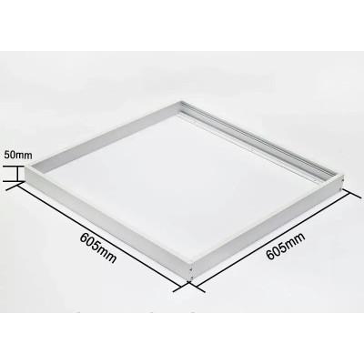 Рамка для накладного монтажа лед панели 60х60 металл