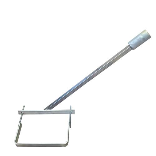 Кронштейн для уличных светильников d=40 мм, длинна 60 см (комплект)