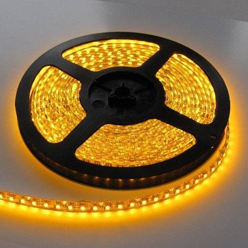 Светодиодные ленты 2Т smd 3528 60д.м. IP20 желтый цвет.