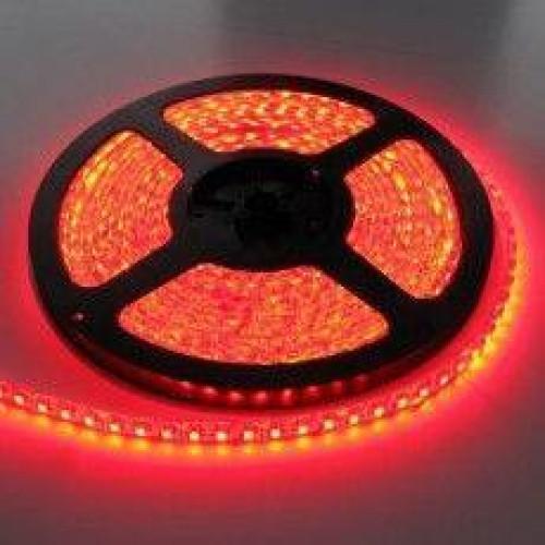 Светодиодные ленты smd 3528 60 д.м. (IP65). Красный цвет.