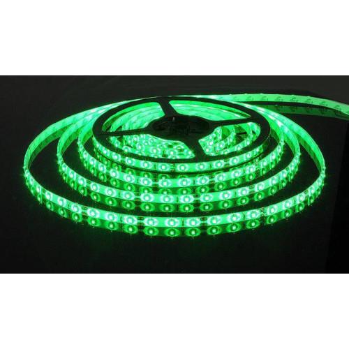 Светодиодные ленты smd 3528 120д.м. двойная плотность (IP65). Зеленый цвет.