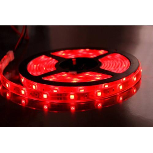 Светодиодные ленты smd 2835 12V  60д.м. (IP20), красный цвет (цена за 1 м)