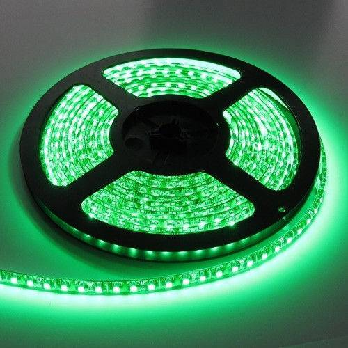 Светодиодные ленты smd 2835 12V 60д.м. (IP20) зеленый цвет (цена за 1 м)