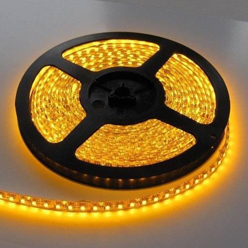 Cветодиодная лента smd 5050 60д.м. ( IP20) Желтый цвет